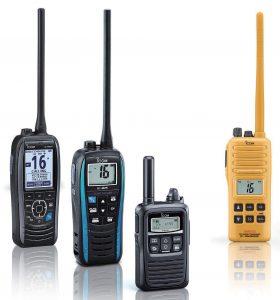 Icom-Handheld-VHF-Marine-Radios-280x300 iCOM Land Mobile, Marine, Satellite, Air to Ground Radios